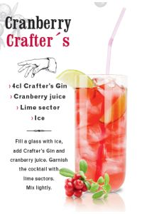 Crafters Gin by Kingsmill 38%, 1000 ml
