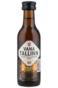 Vana Tallinn Liköör Mini 40%, 50 ml