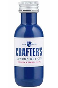 Crafters London Dry Gin 43%, 0,04  ml mini PET