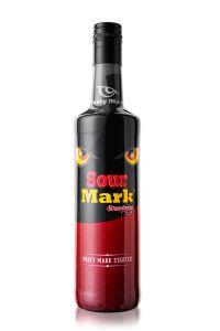 Sour Mark Erdbeer (Strawberry) Likör 16%, 700ml